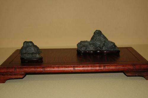 Bonsai Composicion de Piedra Objeto y Paisaje - aebonsai