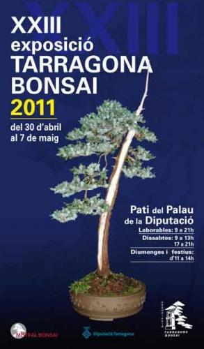 Cartel XXIII Exposicio Tarragona Bonsai