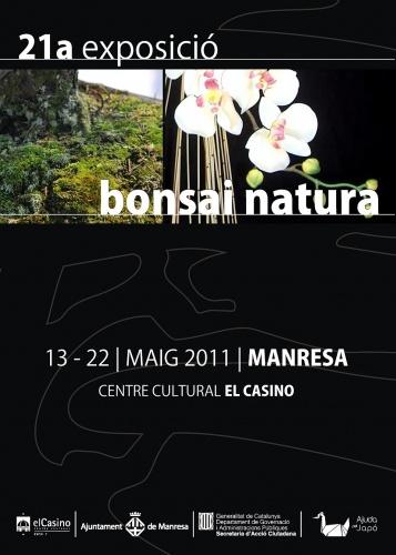 Cartel Exposició Bonsais Manresa