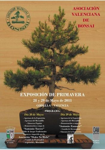 Cartel Exposicion de primavera