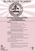 Cartel XXX Aniversario Asociación Valenciana de Bonsai