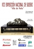 Cartel VIII Exposición Nacional de Suiseki