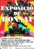 Cartel V Exposicion de Bonsai