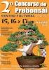 Cartel 2º Concurso de Prebonsai - Griñón