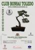 Cartel Bonsai Toledo - Primera Exposición de otoño