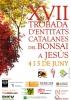 Cartel XVII Trobada Entitats Catalanes del Bonsai