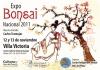Cartel Expo Bonsai Nacional 2011, Mar del Plata, Argentina